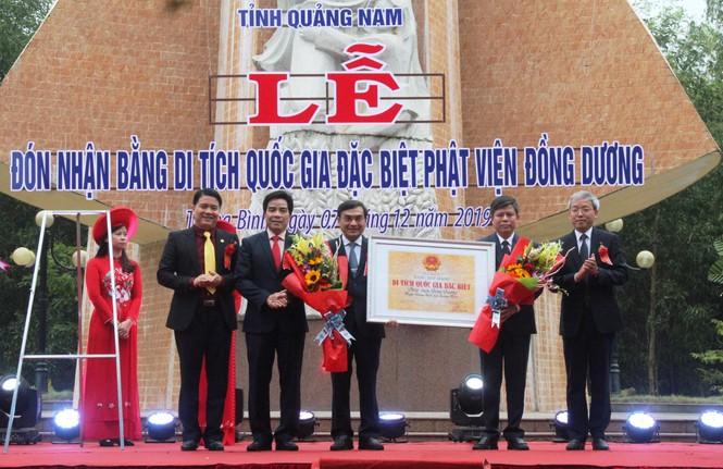 Công nhận Phật viện Đồng Dương là di tích Quốc gia đặc biệt - ảnh 1