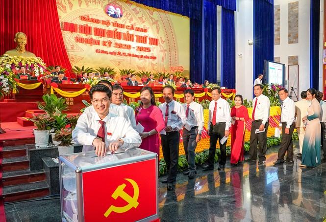 Ông Nguyễn Tiến Hải tái đắc cử Bí thư Tỉnh ủy Cà Mau - ảnh 2