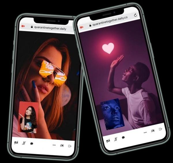 """Hẹn hò trực tuyến: Trang web và ứng dụng giúp các cặp đôi kết nối và """"cách ly cùng nhau"""" - ảnh 1"""