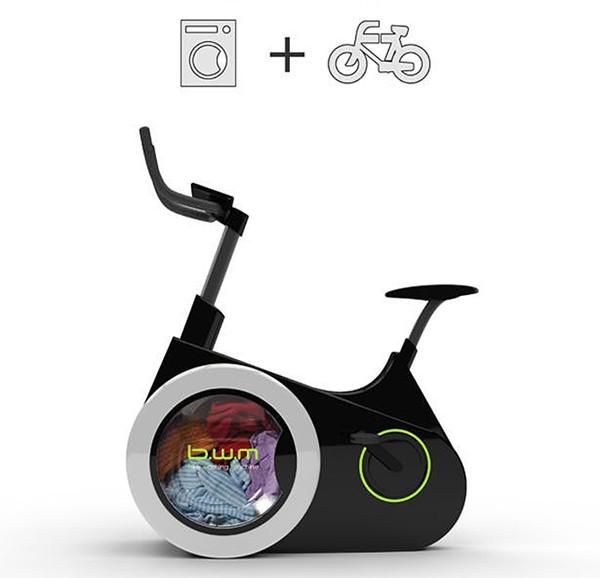 Xe đạp kèm máy giặt để ai cũng có thể tiết kiệm thời gian - vừa tập thể dục, vừa làm việc nhà - ảnh 2