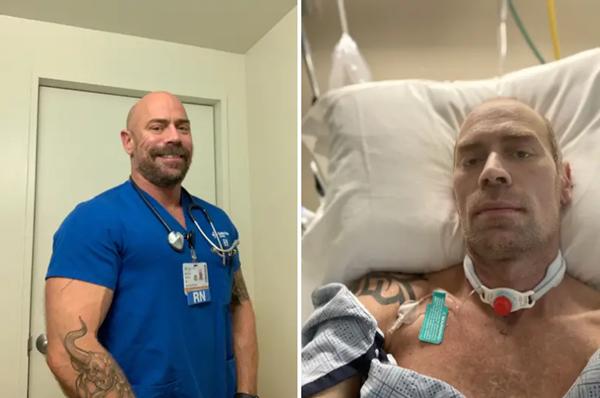 Một người chia sẻ ảnh sốc về sức tàn phá của COVID-19 đối với cơ thể mình sau 6 tuần - ảnh 2