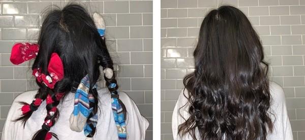 Làm tóc xoăn xinh đẹp tại nhà, miễn phí mà không hại tóc, mất gì đâu mà không thử? - ảnh 4
