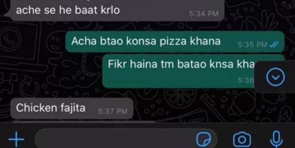 """Chia tay rồi còn nhắn tin đòi người yêu cũ đặt pizza cho ăn, cô gái nhận """"quả đắng"""" - ảnh 2"""