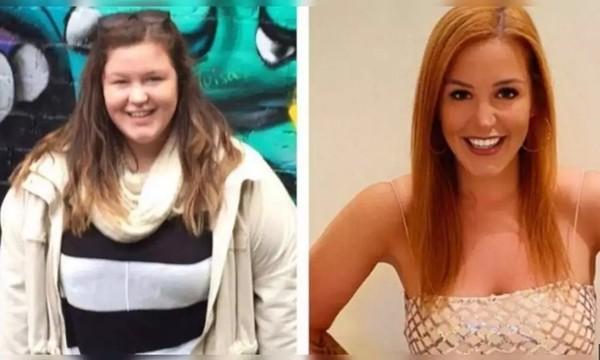 """Chia tay bạn trai """"độc hại"""", cô gái này giảm 76kg và sẵn sàng thi hoa hậu - ảnh 2"""