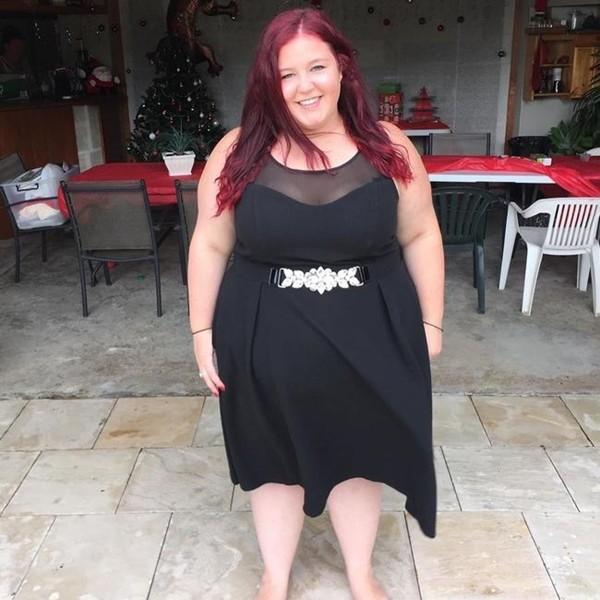 """Chia tay bạn trai """"độc hại"""", cô gái này giảm 76kg và sẵn sàng thi hoa hậu - ảnh 1"""