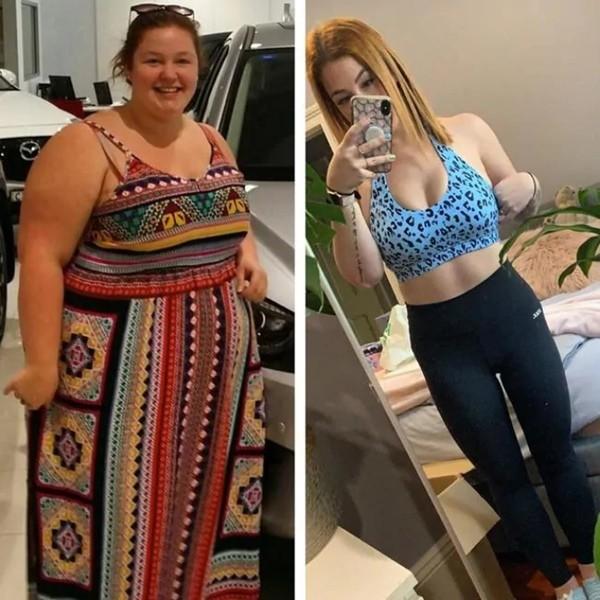 """Chia tay bạn trai """"độc hại"""", cô gái này giảm 76kg và sẵn sàng thi hoa hậu - ảnh 4"""