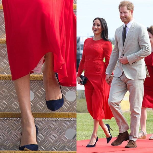 Thi thoảng mặc lỗi thì có sao, các nhân vật hoàng gia còn mặc áo ngược và quên cắt mác kìa - ảnh 1