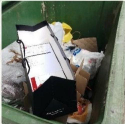 Giao bánh mà gọi điện 10 phút không được, shipper vứt vào thùng rác rồi chụp ảnh gửi khách - ảnh 2