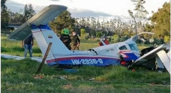 Một em bé là người duy nhất sống sót trong vụ máy bay rơi, do được mẹ ôm trong tay che chở - ảnh 1