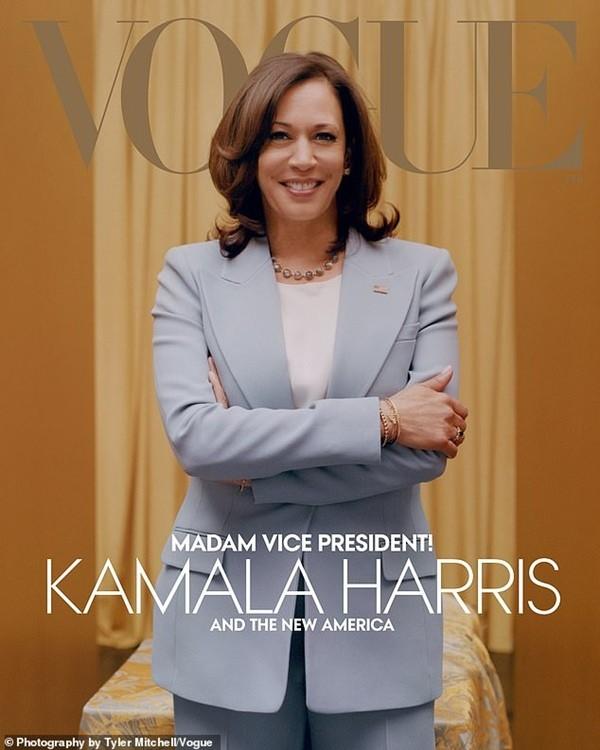 Tạp chí Vogue đăng bìa hình Phó Tổng thống đắc cử Kamala Harris, tại sao gây tranh cãi? - ảnh 3