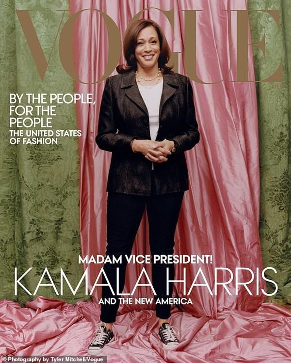 Tạp chí Vogue đăng bìa hình Phó Tổng thống đắc cử Kamala Harris, tại sao gây tranh cãi? - ảnh 1