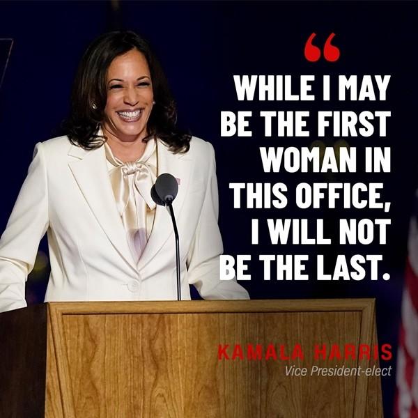 Phó Tổng thống đắc cử Kamala Harris chia sẻ lời khuyên gì của mẹ mà ai cũng tin đó là khởi đầu của thành công? - ảnh 3