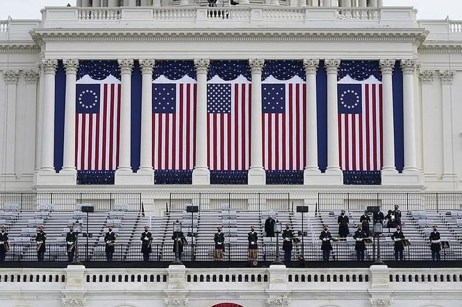 Vệ binh Quốc gia ở Điện Capitol phải học thêm một kỹ năng mới để bảo vệ Lễ Nhậm Chức của ông Joe Biden - ảnh 3