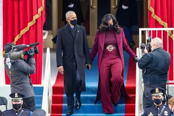 Trang phục tím tràn ngập trong Lễ Nhậm Chức của Joe Biden - Kamala Harris, tại sao vậy? - ảnh 3