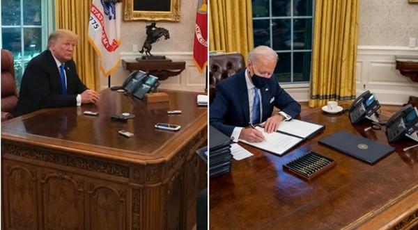 """Tân Tổng thống Biden đưa """"cái nút đỏ trứ danh"""" trở lại bàn làm việc, còn có cái nút thứ 2? - ảnh 3"""