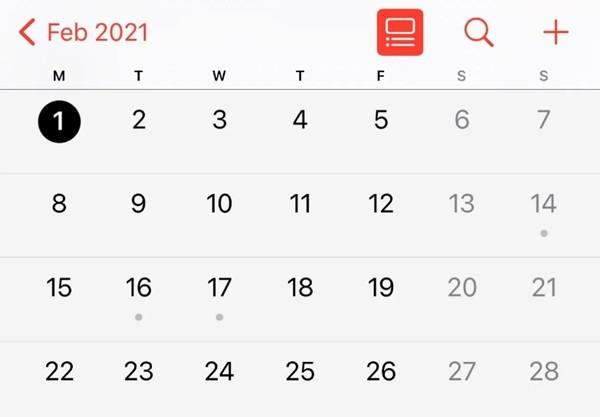 """Sự hoàn hảo đầu tiên của năm 2021: Năm nay có """"tháng Hai hình chữ nhật"""", nó có ý nghĩa gì vậy? - ảnh 1"""