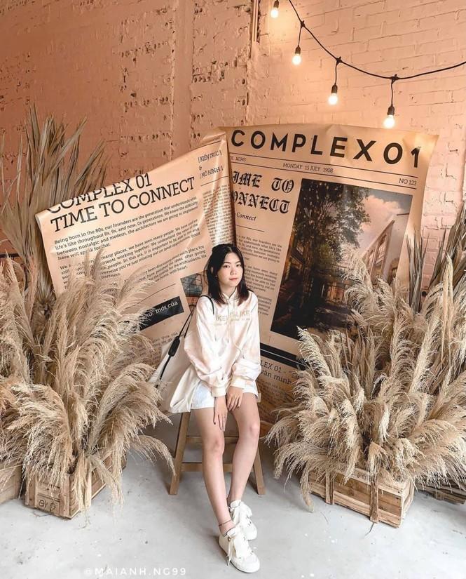 Complex 01: Thiên đường Check-in hơn 4000 mét vuông mới toanh cho giới trẻ Hà Nội - ảnh 6