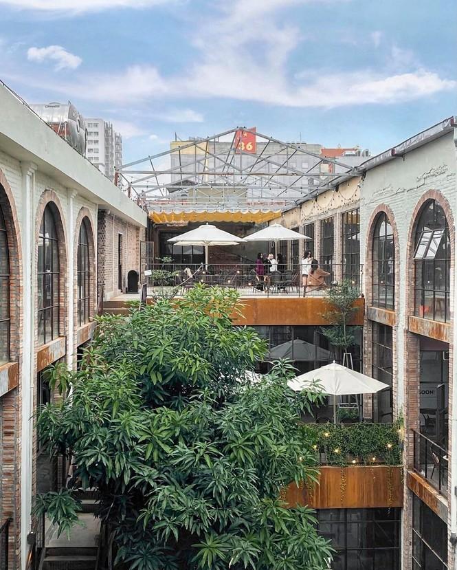 Complex 01: Thiên đường Check-in hơn 4000 mét vuông mới toanh cho giới trẻ Hà Nội - ảnh 1