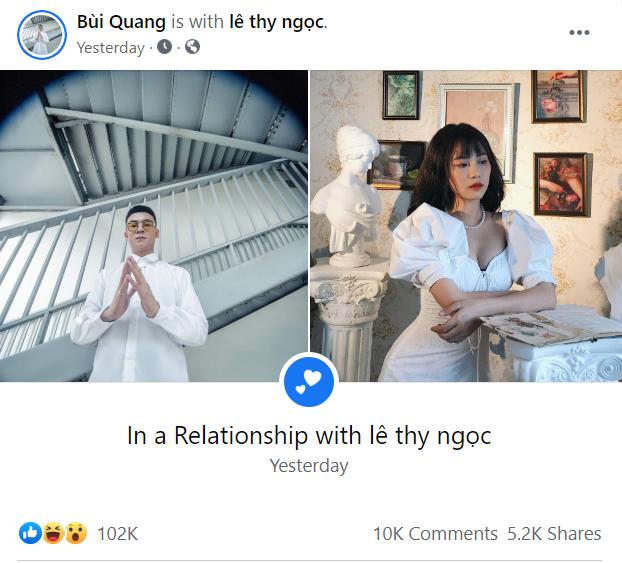 """Quang Cuốn công khai """"đang hẹn hò"""" với Misthy: Đến bạn thân Linh Ngọc Đàm cũng bất ngờ - ảnh 3"""