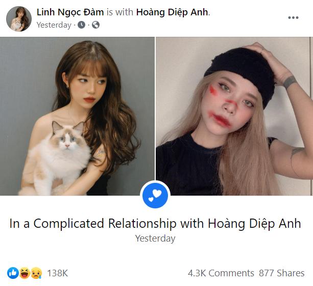 """Quang Cuốn công khai """"đang hẹn hò"""" với Misthy: Đến bạn thân Linh Ngọc Đàm cũng bất ngờ - ảnh 2"""
