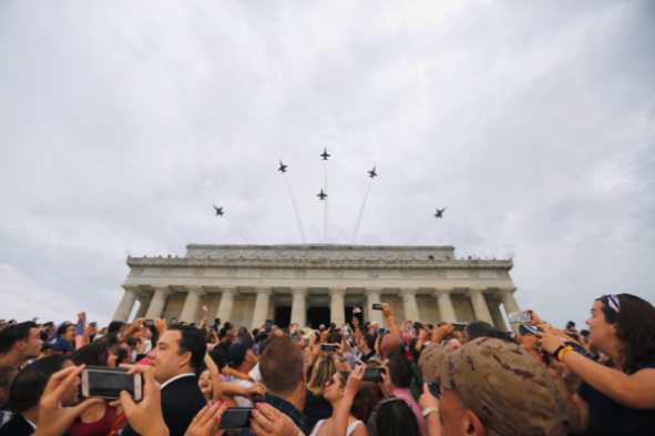 Mỹ kỷ niệm Ngày Độc lập hoành tráng nhất từ trước tới nay - ảnh 4