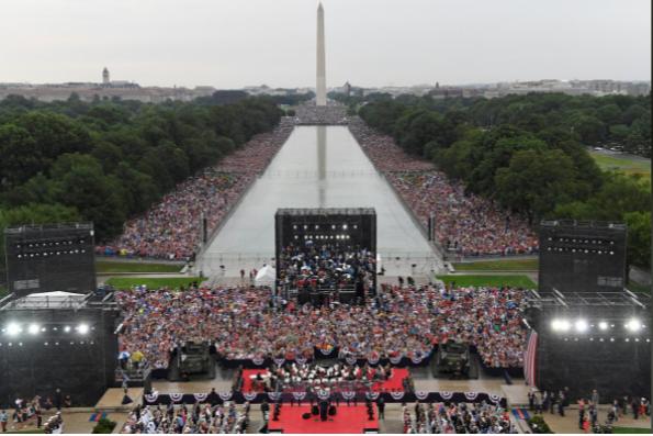 Mỹ kỷ niệm Ngày Độc lập hoành tráng nhất từ trước tới nay - ảnh 2