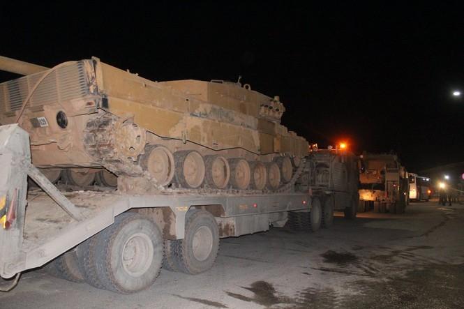Thổ Nhĩ Kỳ ồ ạt dồn quân đến biên giới Syria - ảnh 3