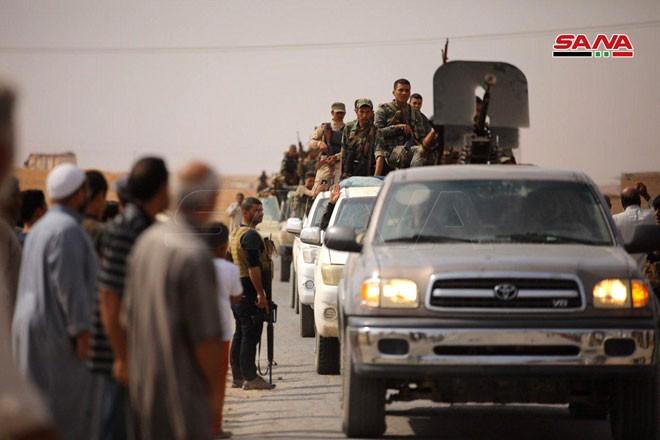 Quân đội Syria tiến về biên giới Thổ Nhĩ Kỳ theo hai hướng - ảnh 2
