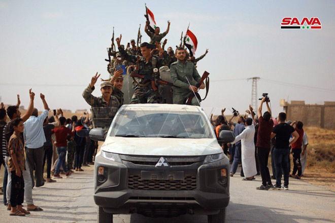 Quân đội Syria tiến về biên giới Thổ Nhĩ Kỳ theo hai hướng - ảnh 3