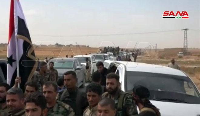 Quân đội Syria tiến về biên giới Thổ Nhĩ Kỳ theo hai hướng - ảnh 5