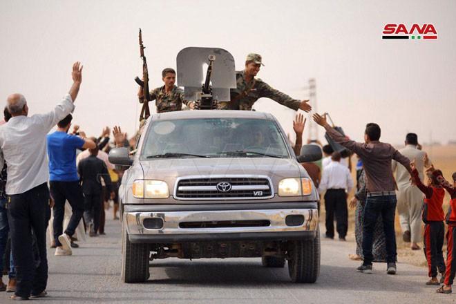 Quân đội Syria tiến về biên giới Thổ Nhĩ Kỳ theo hai hướng - ảnh 7