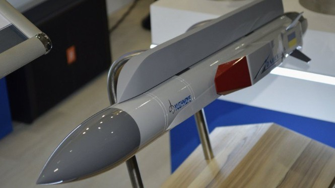 Ukraine khoe tên lửa siêu thanh mới cho máy bay Sukhoi - ảnh 1