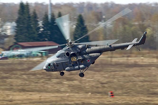 Mi-8 phóng tên lửa tấn công 'kẻ thù' ở vùng núi Kyrgyzstan - ảnh 1