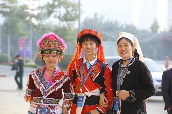 Đa dạng sắc màu dân tộc tại Đại hội Hội LHTN Việt Nam lần thứ VIII - ảnh 6