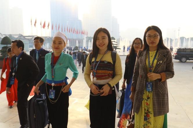 Đa dạng sắc màu dân tộc tại Đại hội Hội LHTN Việt Nam lần thứ VIII - ảnh 3