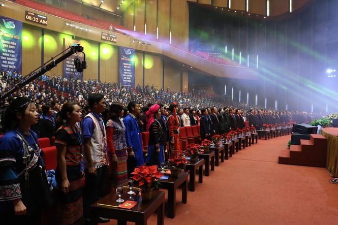 Đa dạng sắc màu dân tộc tại Đại hội Hội LHTN Việt Nam lần thứ VIII - ảnh 2