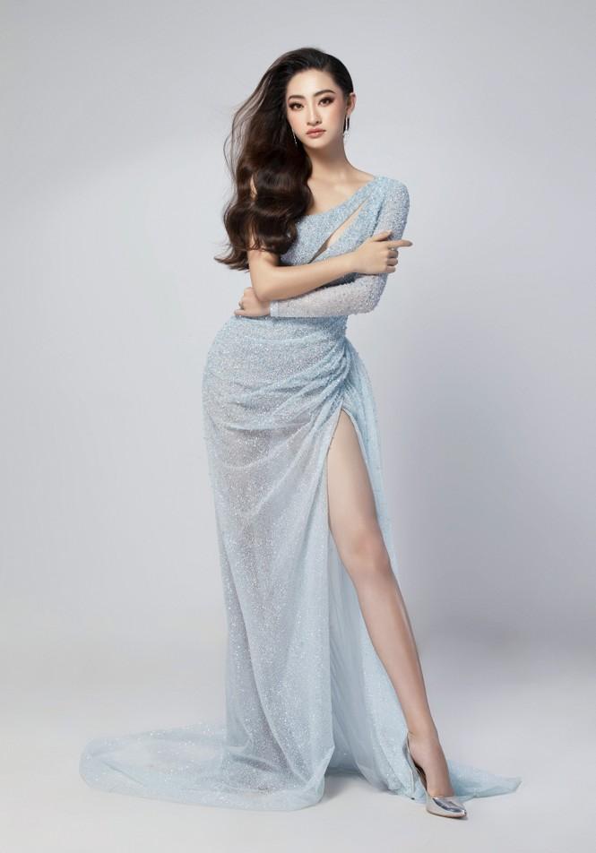 Hé lộ trang phục dạ hội đêm chung kết Miss World của Hoa hậu Lương Thùy Linh - ảnh 3