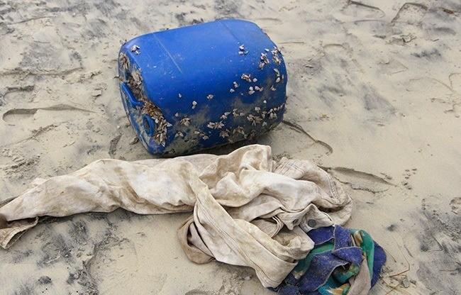 33 kg ma tuý dạt vào biển miền Trung từ con tàu đắm - ảnh 2