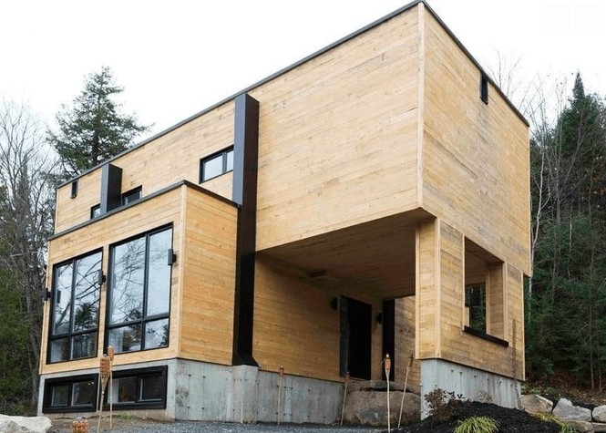 Bất ngờ với ngôi nhà tuyệt đẹp được thiết kế từ 4 chiếc container - ảnh 1