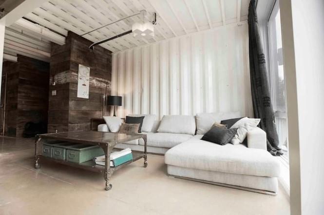 Bất ngờ với ngôi nhà tuyệt đẹp được thiết kế từ 4 chiếc container - ảnh 4