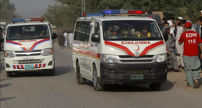 Hiện trường vụ nổ bom trường học ở Pakistan khiến gần 120 người thương vong - ảnh 3
