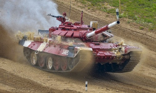 Nga triển khai xe tăng T-72B3 tới quần đảo tranh chấp với Nhật Bản - ảnh 1