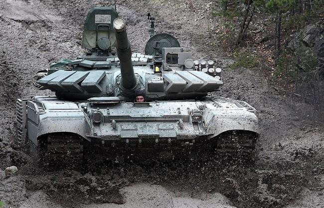 Nga triển khai xe tăng T-72B3 tới quần đảo tranh chấp với Nhật Bản - ảnh 2