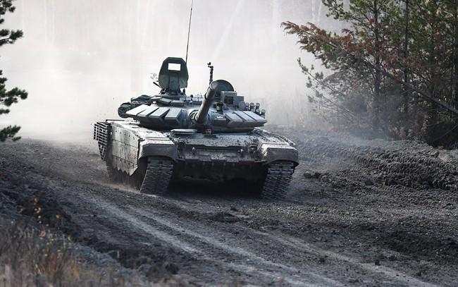 Nga triển khai xe tăng T-72B3 tới quần đảo tranh chấp với Nhật Bản - ảnh 3