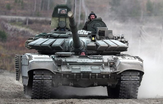 Nga triển khai xe tăng T-72B3 tới quần đảo tranh chấp với Nhật Bản - ảnh 4