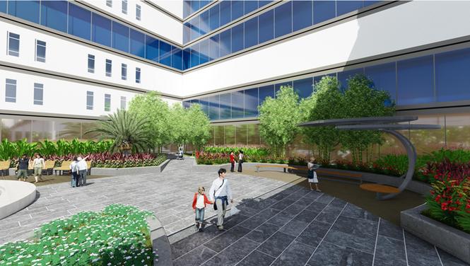 Kiến trúc độc đáo của bệnh viện thông minh hàng đầu miền Bắc - ảnh 7