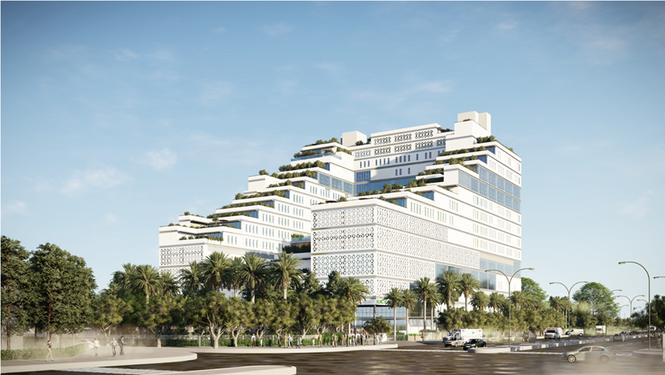 Kiến trúc độc đáo của bệnh viện thông minh hàng đầu miền Bắc - ảnh 1