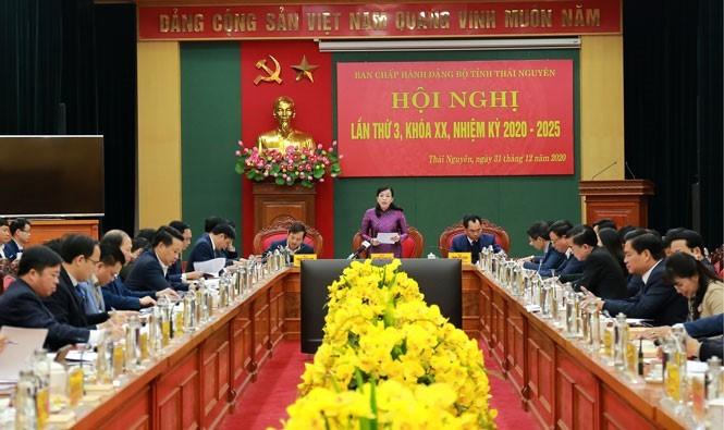 Thái Nguyên phấn đấu thuộc nhóm 10 tỉnh, thành dẫn đầu về chuyển đổi số - ảnh 1