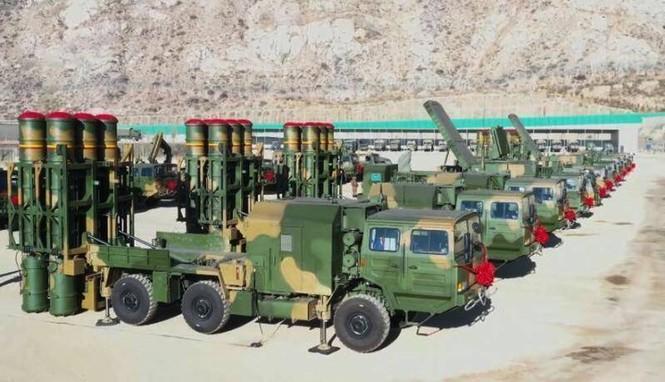 Trung Quốc tăng cường loạt tổ hợp phòng không HQ-16B đến giáp biên giới Ấn Độ - ảnh 2