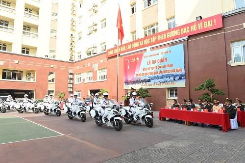 Bộ Tư lệnh Cảnh vệ ra quân bảo vệ Đại hội XIII của Đảng - ảnh 1